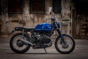 bmw cafe racer blue